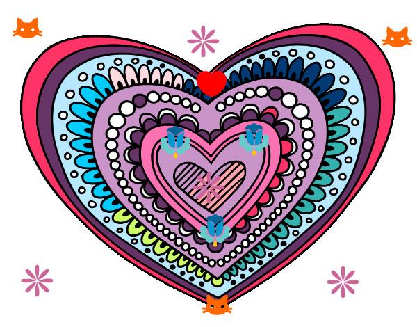 Dibujos De Corazones Coloridos: Dibujo De La Esfera De Colores Pintado Por Lucinda26 En