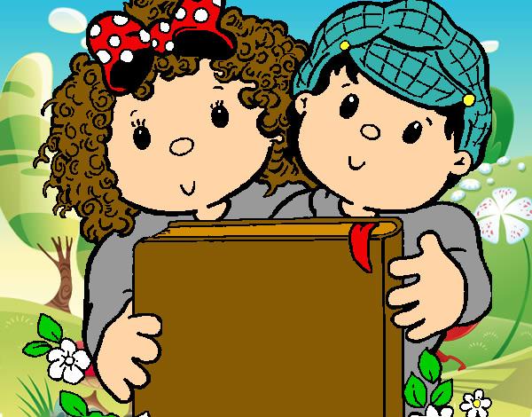 Dibujo de leyendo pintado por themarine2 en el - Dibujos infantiles para imprimir pintados ...