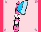 Dibujo Cepillo de dientes pintado por jessey