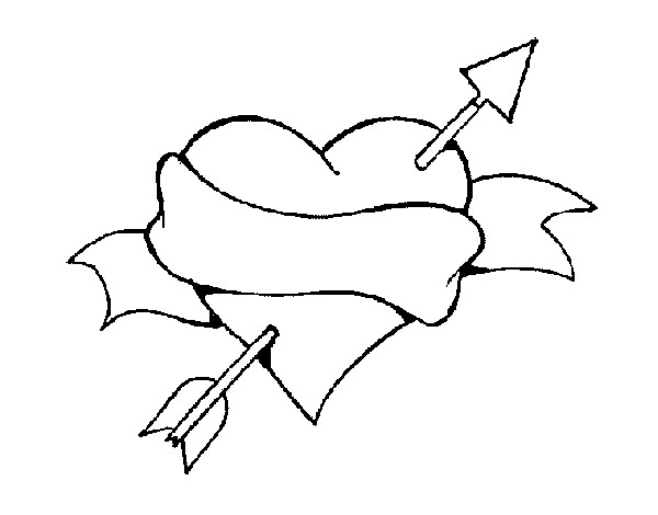 Dibujo de corazon pintado por Lipaalgo en Dibujos.net el día 07-02 ...