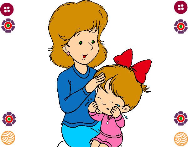 Dibujo de LA MADRE E HIJA pintado por Dulsesitha en Dibujosnet el