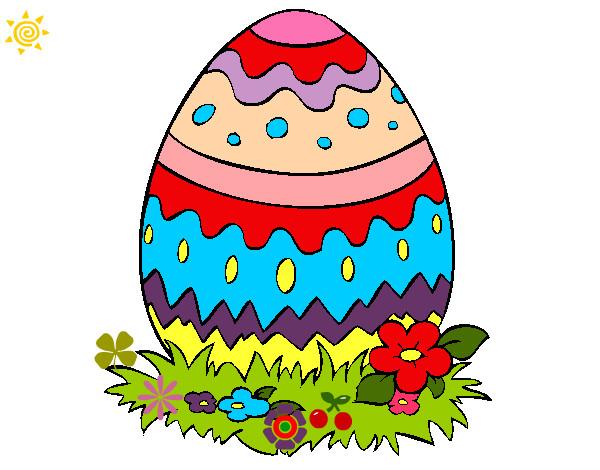 Dibujo de huevo de pascua 2 pintado por ferny16 en dibujos - Videos de huevos de pascua ...