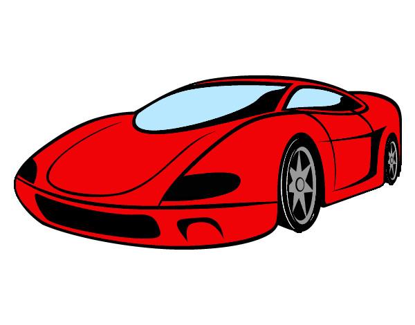 Dibujo De Ferrari Pintado Por Manuel99 En Dibujos Net El Dia 24 02