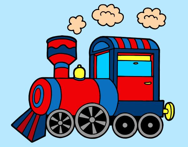 Dibujo de lindo mi tren pintado por Ani123 en Dibujos.net el día 23 ...