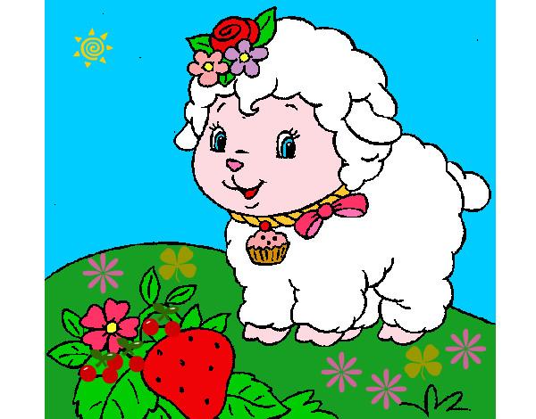 Dibujo De Ovejita Pintado Por Keimy En Dibujos.net El Día