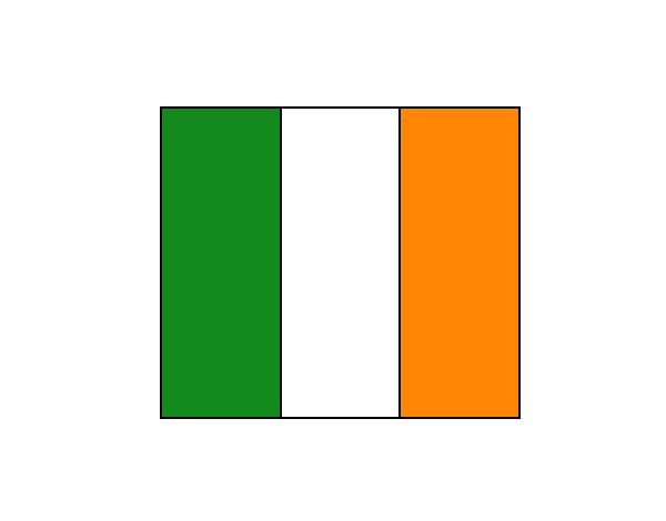 Dibujo de Bandera de Irlanda pintado por Lilistyles en Dibujos.net ...
