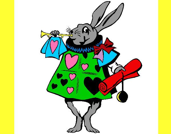 Dibujo de conejo de alicia en el pa s de las maravillas pintado por alberto07 en el - Conejo de alicia en el pais de las maravillas ...