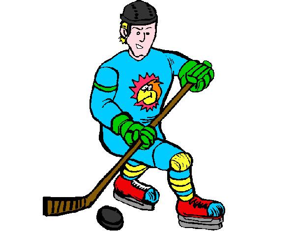 Dibujos Para Colorear Jugador De Hockey: Dibujo De Kendall Pintado Por Axelsmidit En Dibujos.net El