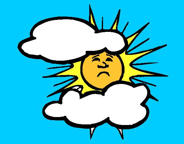 Dibujo de el sol i las nubes pintado por Jose098765 en Dibujosnet