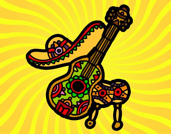 Dibujo De Viva México Pintado Por Auryn En Dibujosnet El