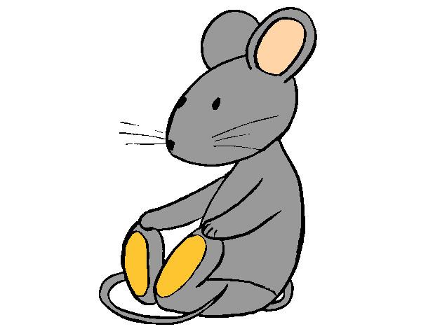 Dibujo De Raton Pintado Por Fabimaness En Dibujos.net El
