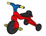 Dibujo Triciclo infantil pintado por Paripo5000