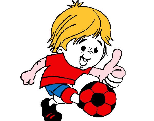 Dibujo de Chico jugando a fútbol pintado por Brianpipo en Dibujos ...