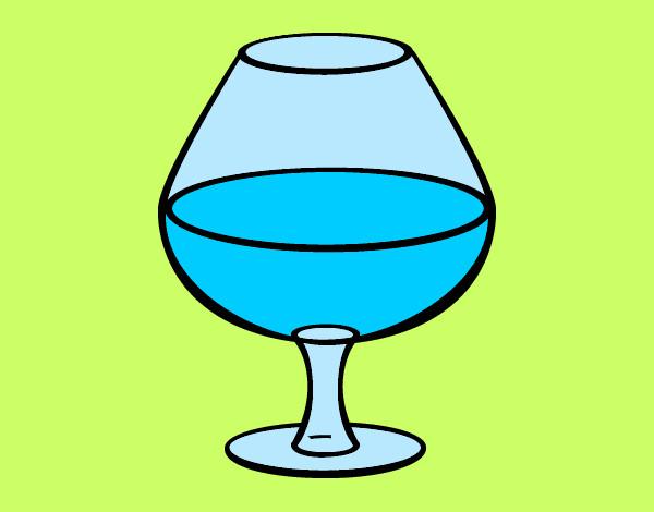 Dibujo de Copa de vino pintado por Yanu en Dibujos.net el día 29 ...