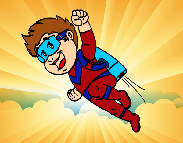 Dibujo de h roe volando pintado por cheese en el d a 02 05 13 a las 01 15 31 - Image de super hero ...
