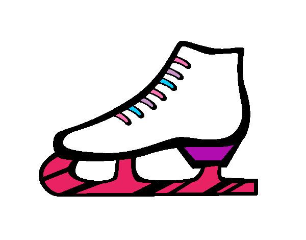 Worksheet. Dibujo de Patn sobre hielo pintado por Natalia674 en Dibujosnet