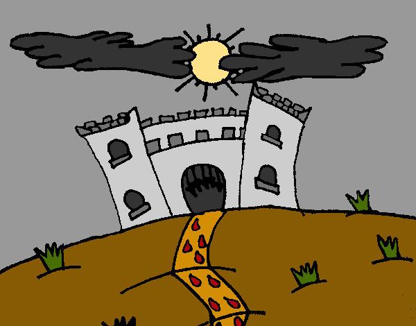 Dibujo De Castillo Maléfico Pintado Por Charito En Dibujos