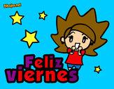 Dibujo Feliz viernes pintado por Milucha16
