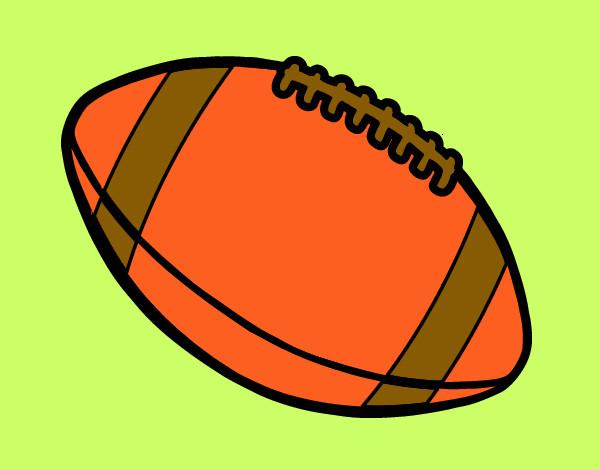 Dibujo De Jugador De Fútbol Con Balón Pintado Por En: Dibujo De Balón De Fútbol Americano Pintado Por Macheli