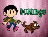 Dibujo Domingo pintado por vitu12