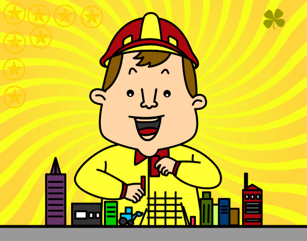 Dibujo de Trabajando pintado por Andrealova en Dibujos.net el día 04 ...