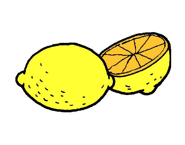 Dibujo de limón pintado por Diana050 en Dibujos.net el día 01-07 ...