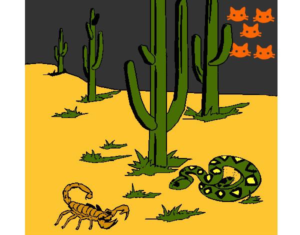 Dibujo de Desierto pintado por Goku58 en Dibujosnet el da 0807