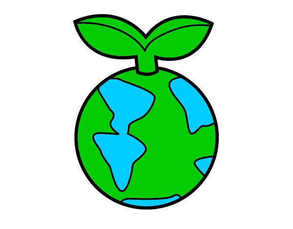Dibujo de hay que cuidar el planeta pintado por Jeremyo en Dibujos ...