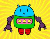 Dibujo Robot con pinzas pintado por jorge312