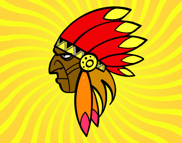 Dibujos De Indios Para Colorear