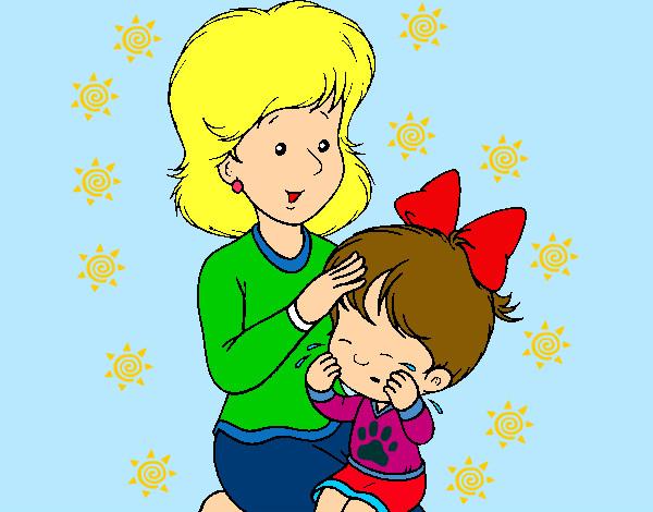 Dibujo De Amor Entre Madre E Hija~ Pintado Por Irisrammus