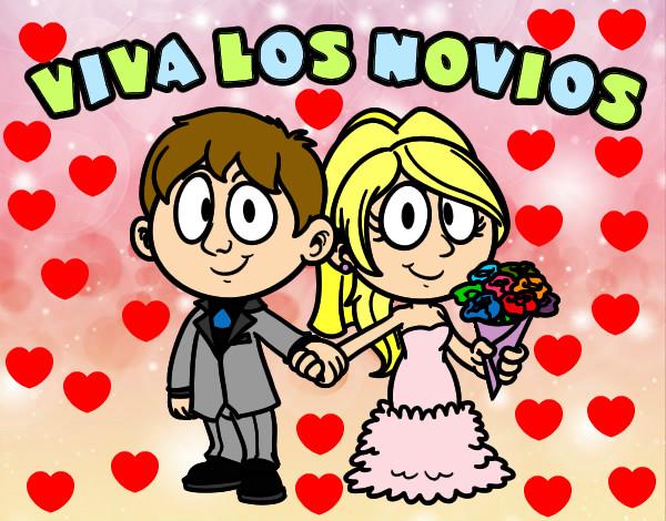 Dibujo de Viva los novios pintado por Anna-ines en Dibujos ...