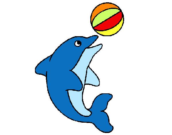 Dibujos de Delfines para Colorear  Dibujosnet