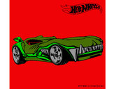 Dibujo Hot Wheels 3 pintado por jhoangel