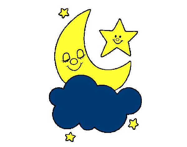 Image gallery luna dibujo - Dibujos de lunas infantiles ...