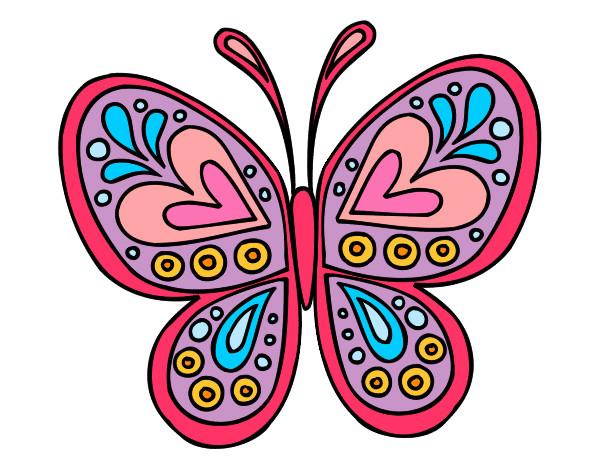 dibujos de mariposas de color imagui