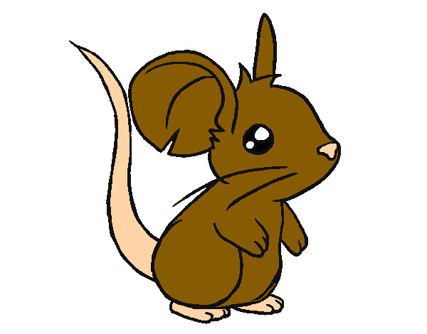 Dibujos de Ratones para Colorear  Dibujosnet