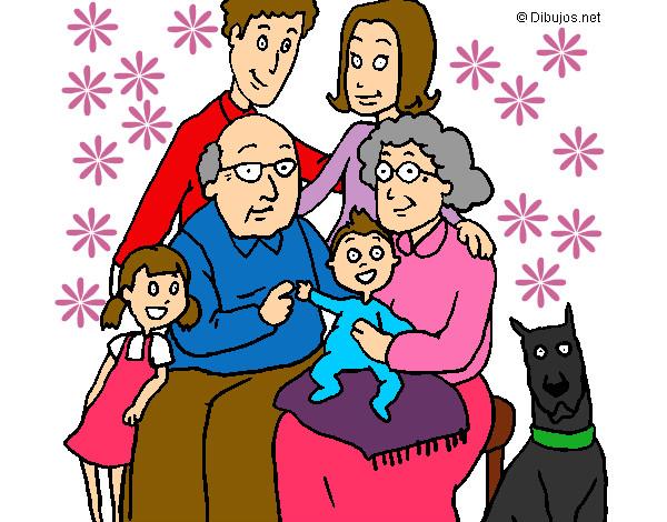 Worksheet. Dibujo de Familia pintado por Chano en Dibujosnet el da 090813