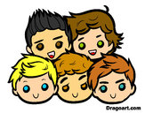 Dibujo One Direction 2 pintado por Ingrid1D