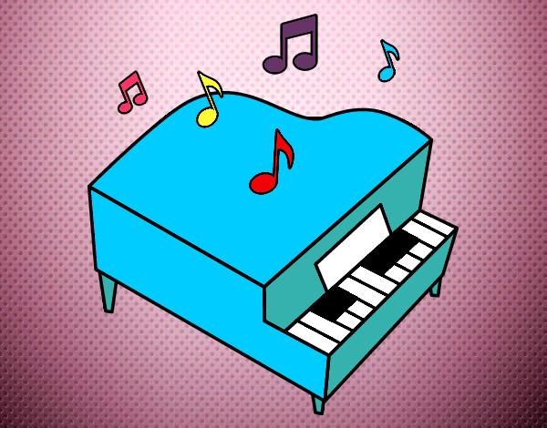 Worksheet. Dibujos de Instrumentos musicales para Colorear  Dibujosnet