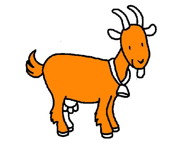 Dibujo de cabra pintado por lunapyok en el d a - Dibujos pintados en la pared ...