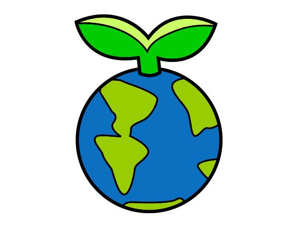 Dibujos de La Tierra para Colorear  Dibujosnet