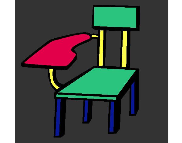 Dibujo de silla escolar pintado por nokomoko en dibujos for Sillas para imprimir