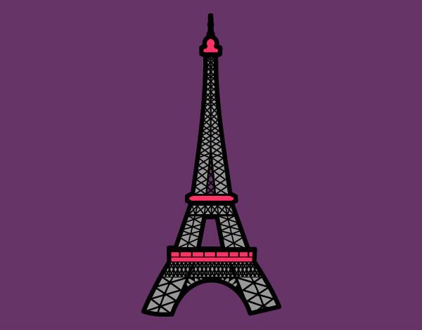 Dibujos Animados De La Torre Eiffel