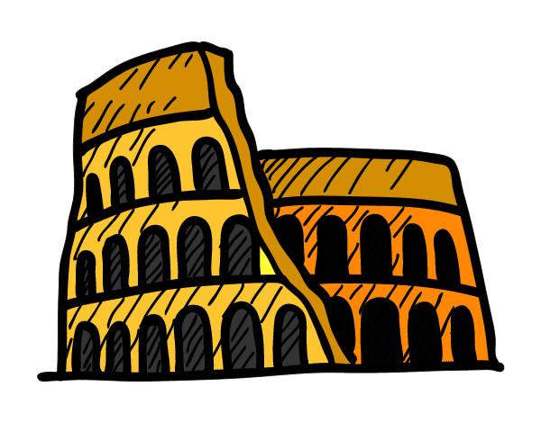 Resultado de imagen de roma dibujo