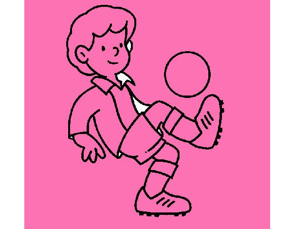 Dibujo De Futbol Pintado Por Maarta En Dibujos Net El Día: Dibujo De Fútbol Pintado Por Lunapyok En Dibujos.net El
