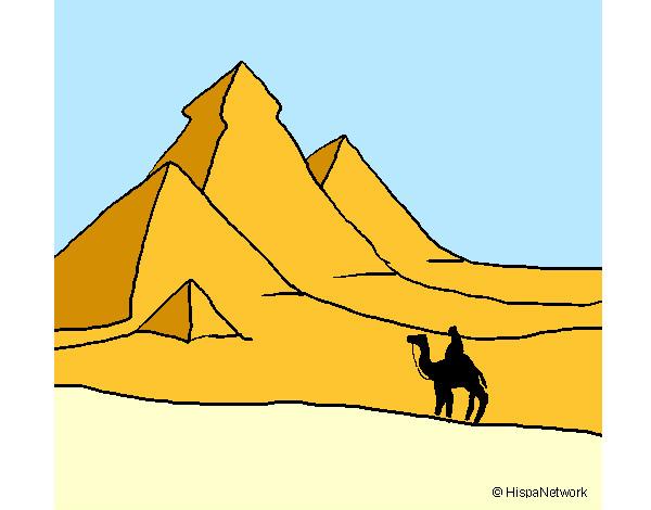 Dibujos de El desierto para Colorear  Dibujosnet