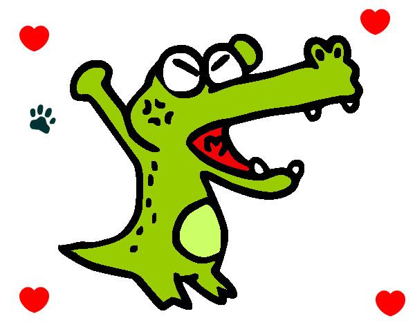 Dibujos pintados infantiles de cocodrilos imagui for Dibujos infantiles pintados