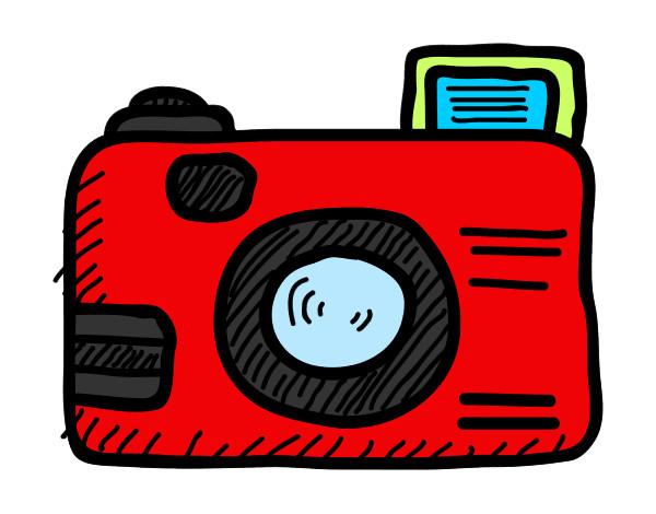 Resultado de imagen de cámara de fotos dibujo
