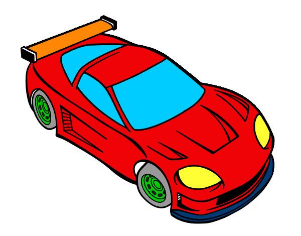 Dibujos de Autos para Colorear  Dibujosnet